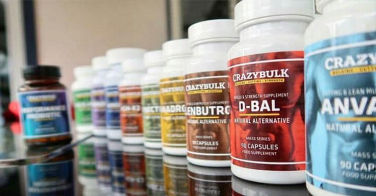 Análise aos suplementos CrazyBulk